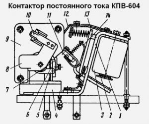 shema-kontaktor-kpv